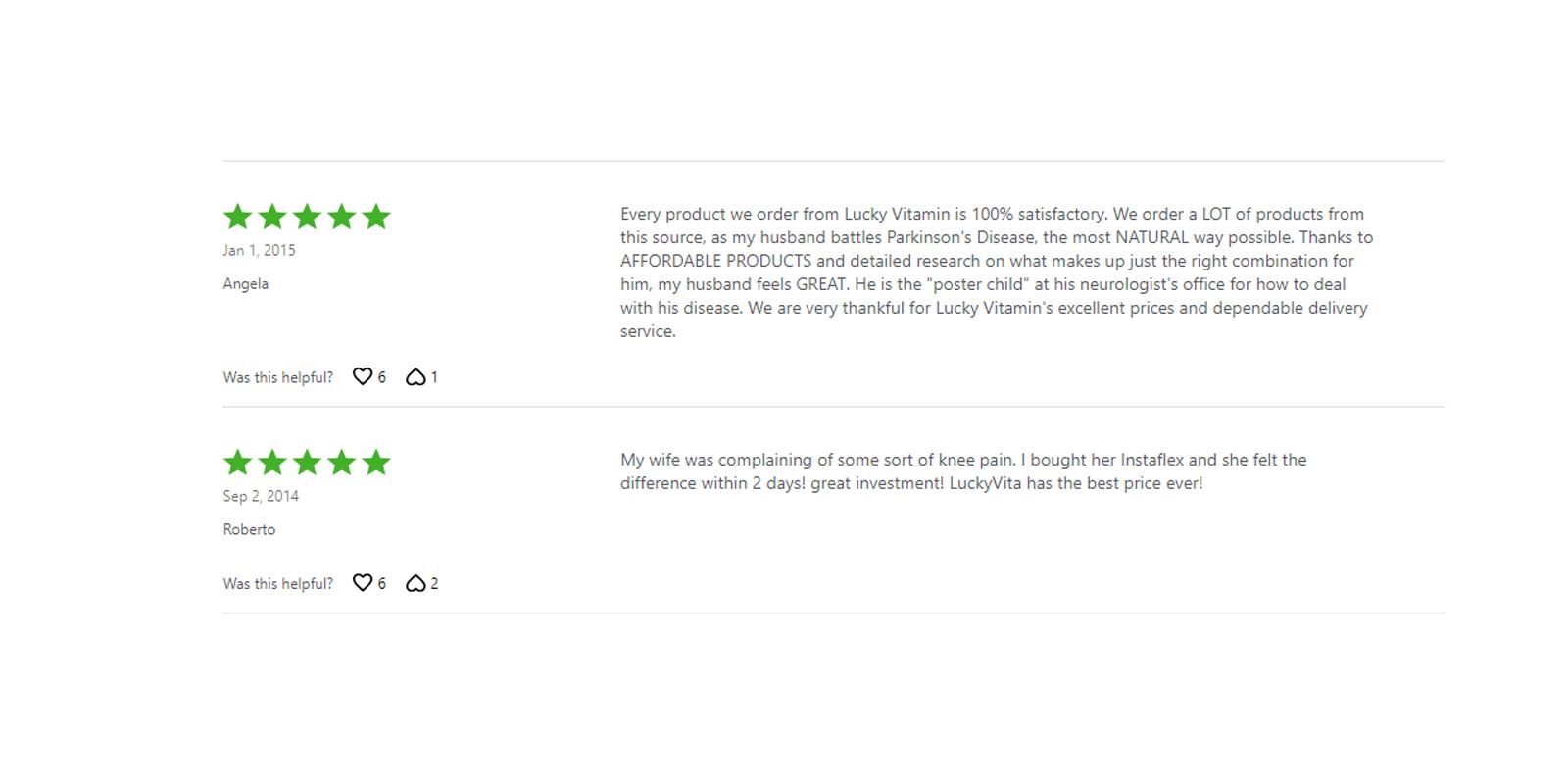 Instaflex customer reviews