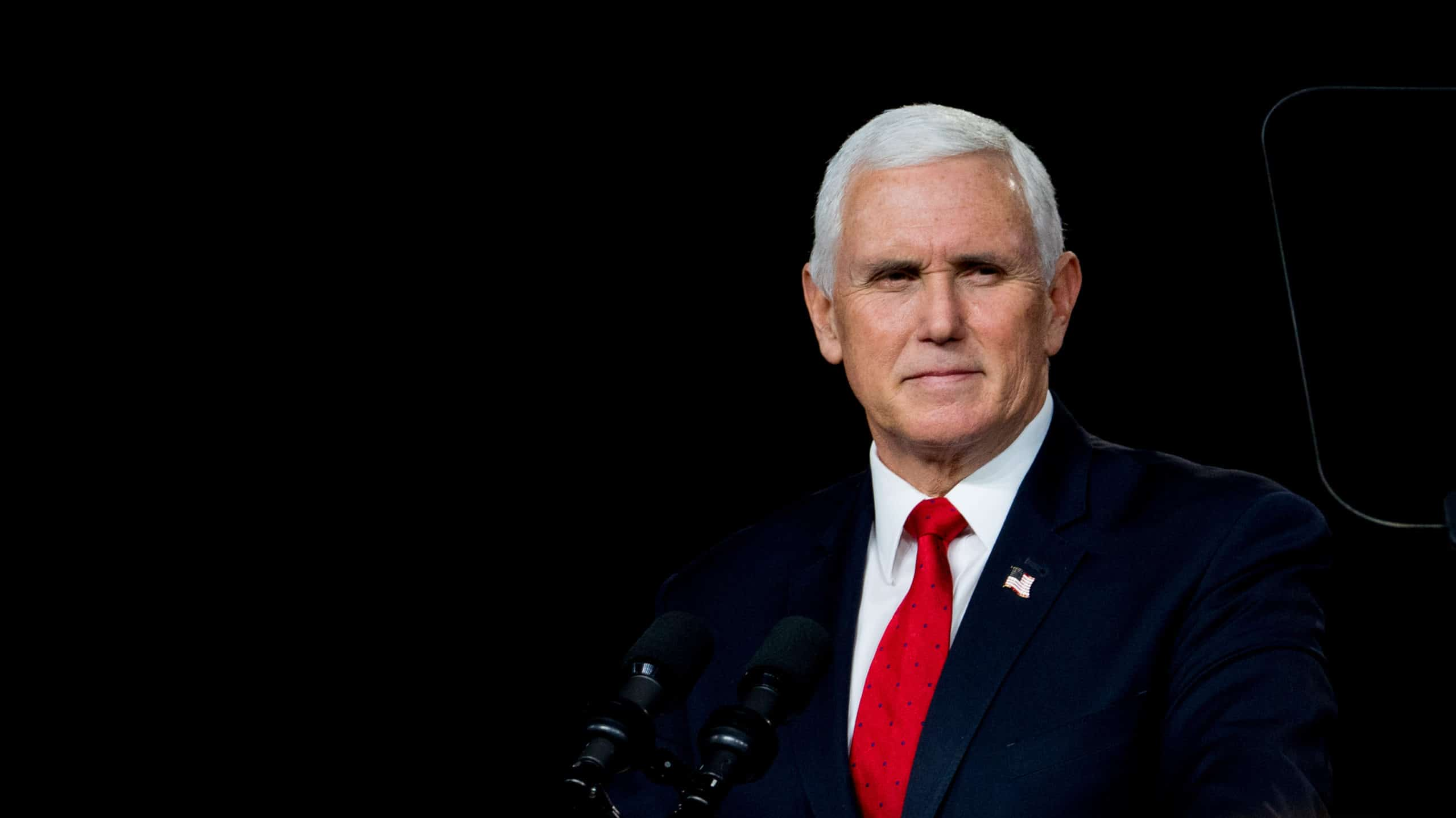 Vice President Mike Pence Campaigns In Georgia For Republican Senate Candidates
