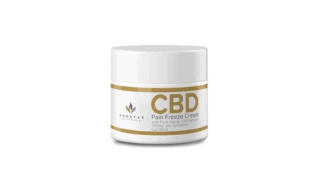 Prosper CBD Pain Freeze Cream Reviews