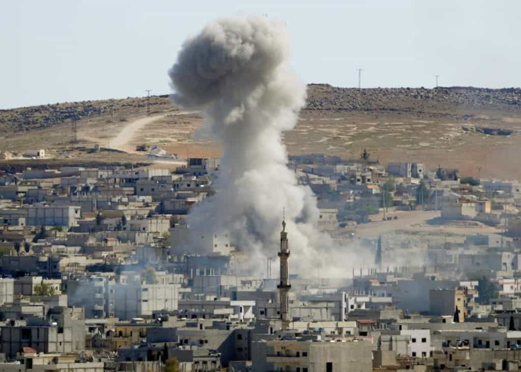 Air Strikes By America That Shook Syria