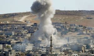 Air-Strikes-By-America-That-Shook-Syria