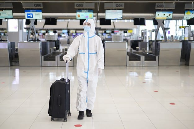 Airports Work On Reducing COVID-19
