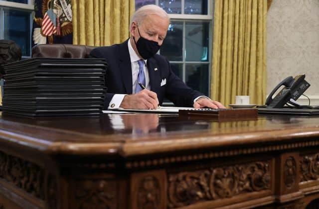 Biden Commits For Reopening Of K-8 Schools