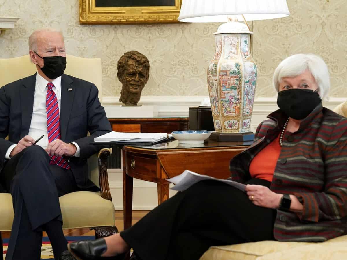 Biden Urges Congress To Pass $1.9tn Relief Package