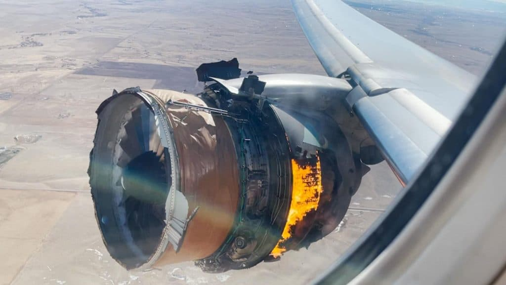 Boeing To Suspend The 777s Engine After Terrifying Video Showing Debris Shower In Denver