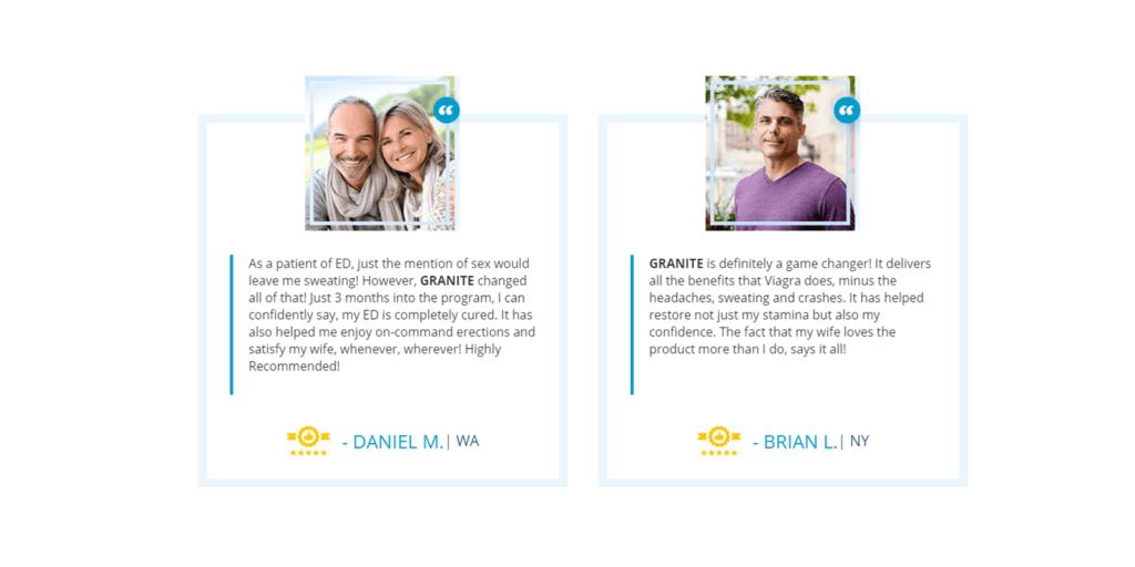 granite male enhancement customer reviews