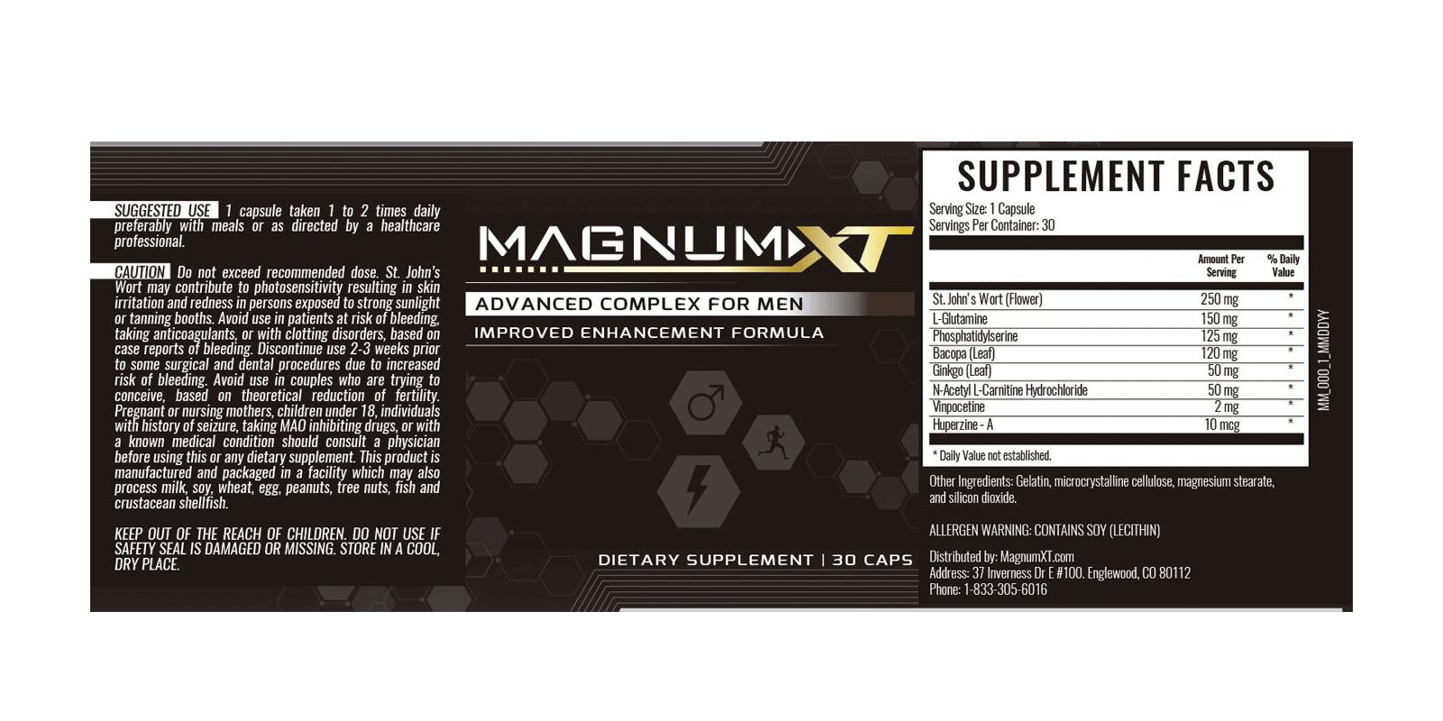 Magnum XT dosage