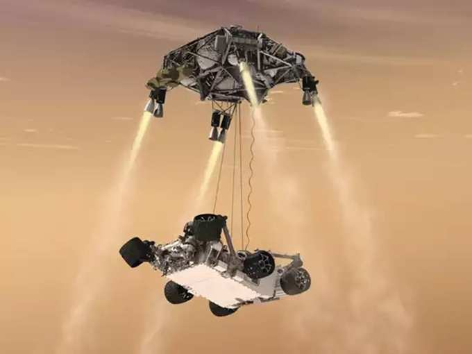 NASA Rover Lands Successfully On Mars