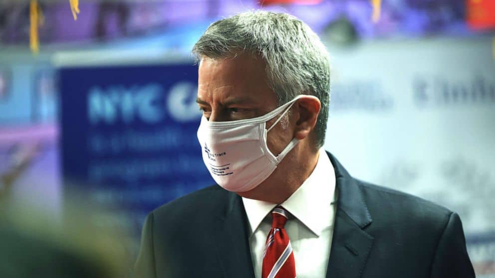 New York Mayor Asked Residents To Wear Two Masks