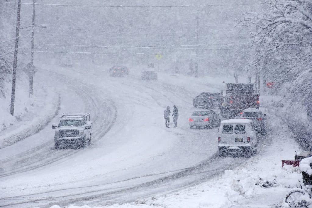 Powerful Winter Storm Has Caused Inconvenience In Northern California