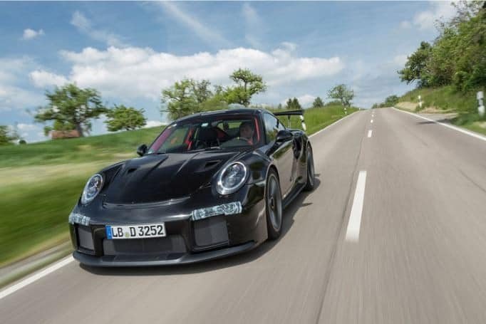 The Fourth Guinness Book Record Of Porsche For Fastest Indoor Speeds