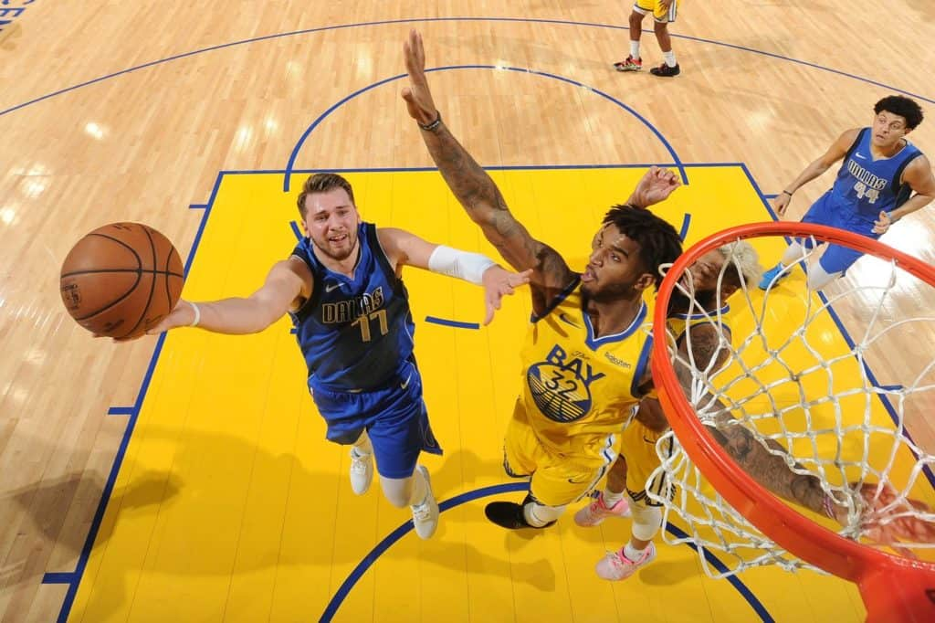 The Golden State Warriors Overpowered The Dallas Mavericks