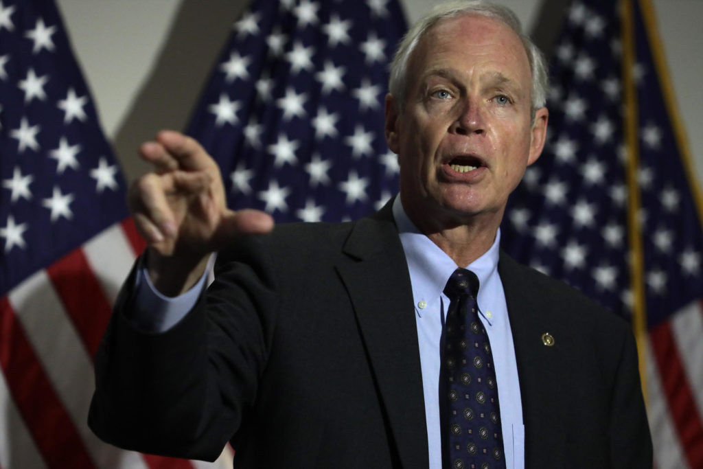 Wisconsin Sen. Ron Johnson Denied The Capitol Riots To Be Recognized As Armed Insurrection