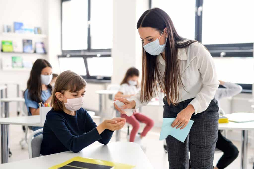 CDC Relaxes Physical Distancing Guidelines In Schools
