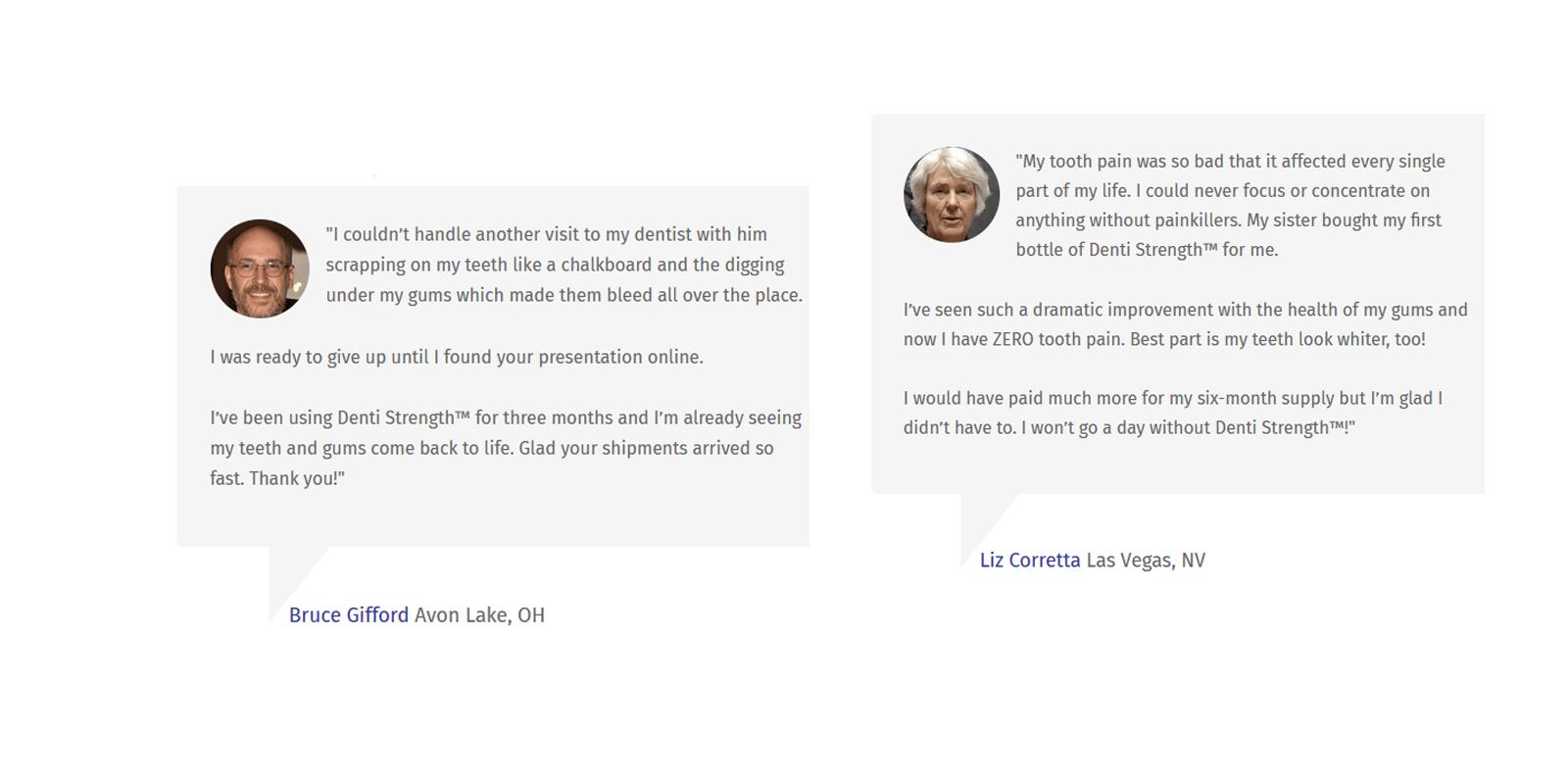 Denti Strength Customer Reviews