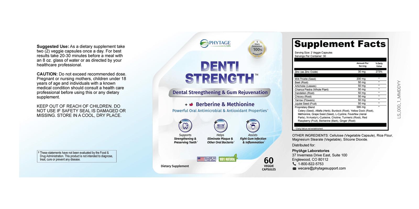 Denti Strength Dosage