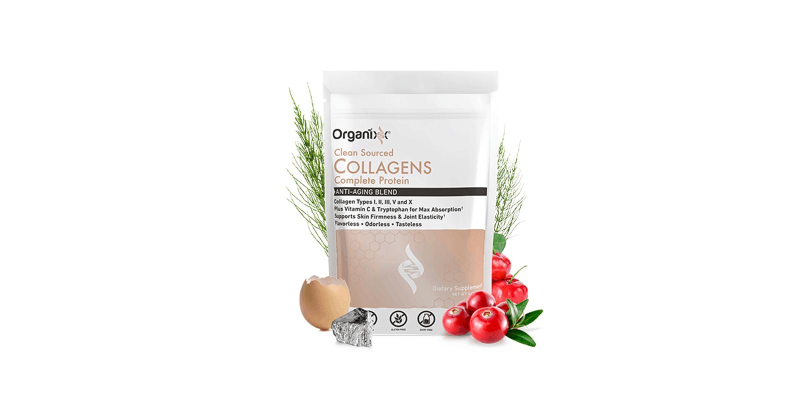 Organixx Collagen ingredients