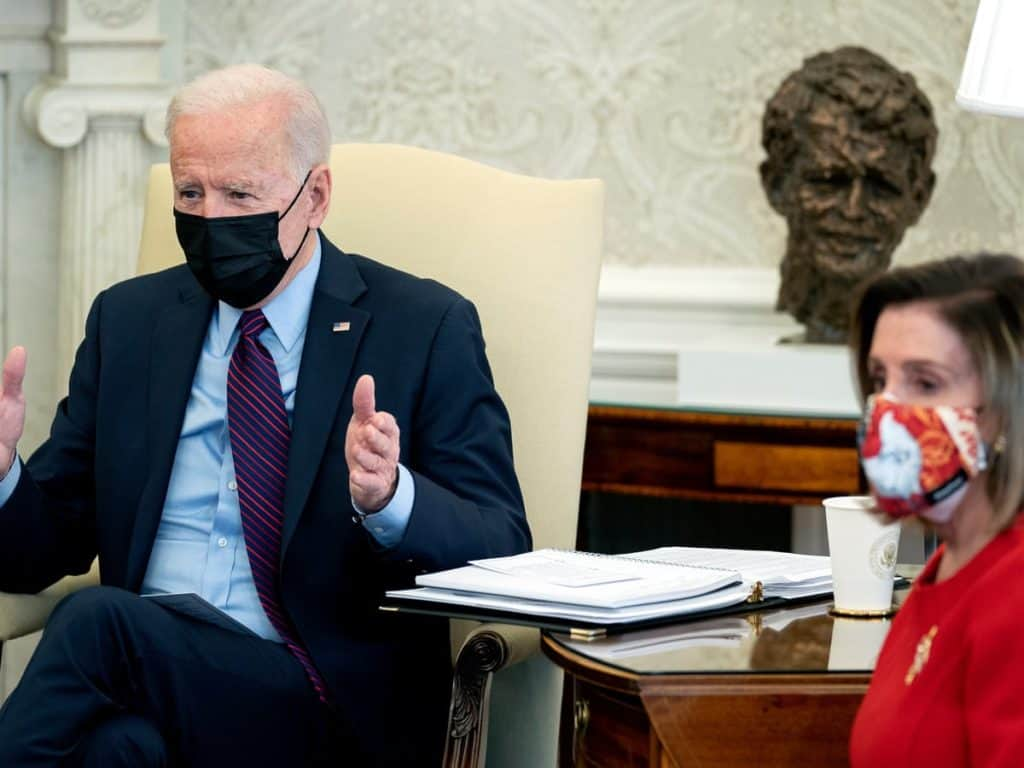 President's Joe Biden's Relief Bill Passed By House