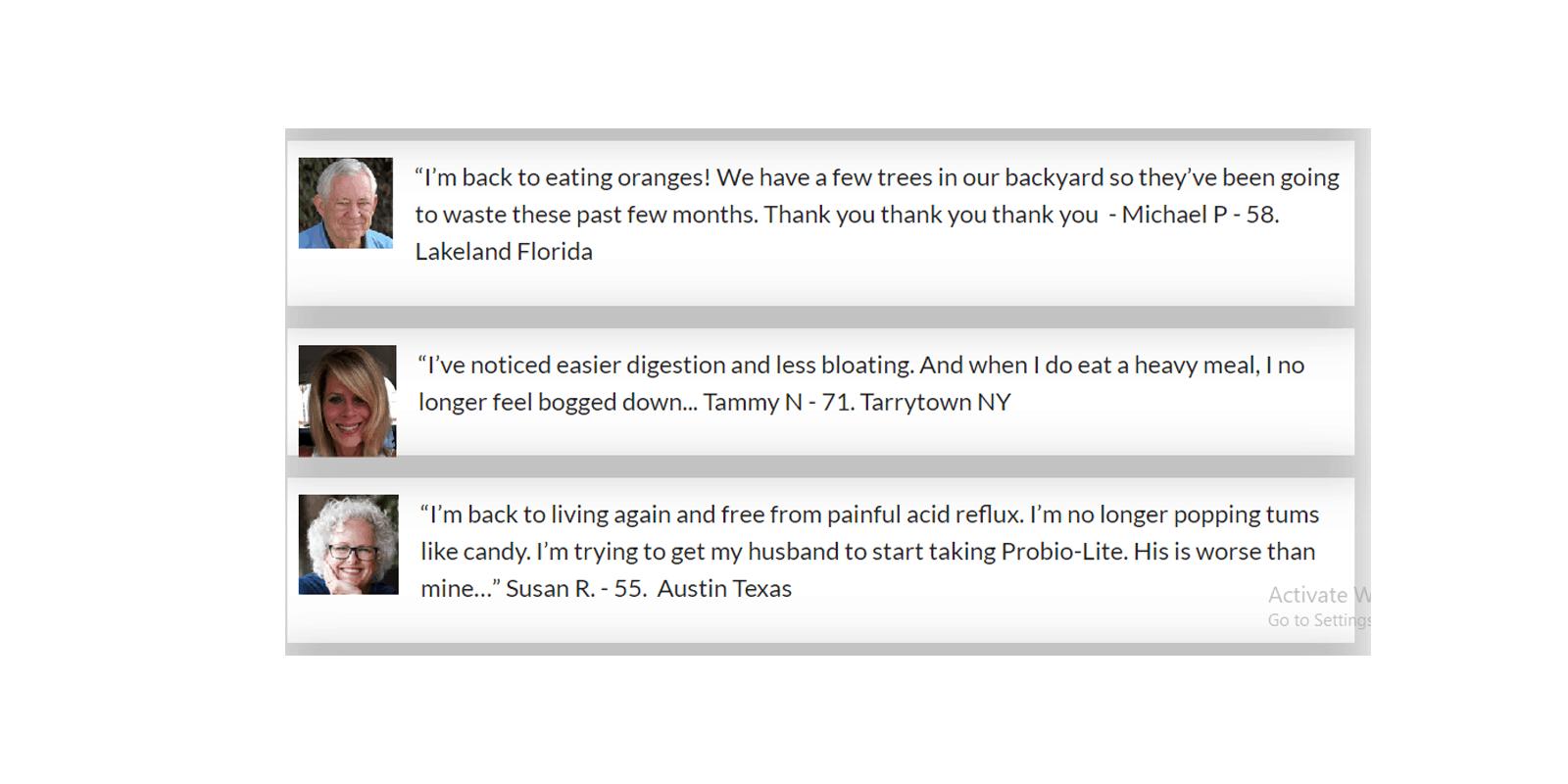 ProBio Lite customer Reviews