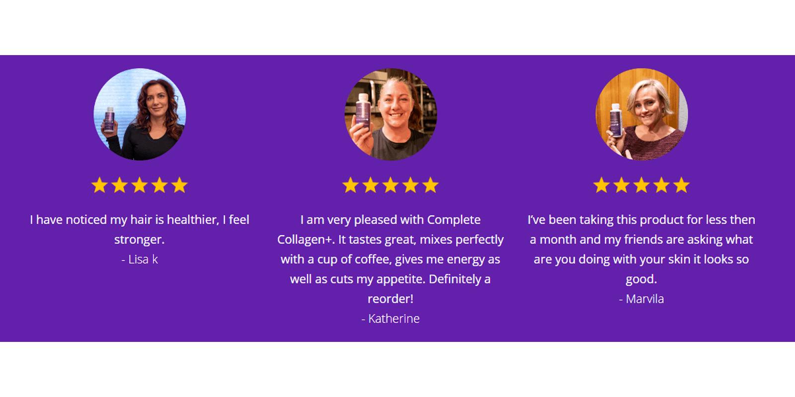 Complete Collagen customer reviews