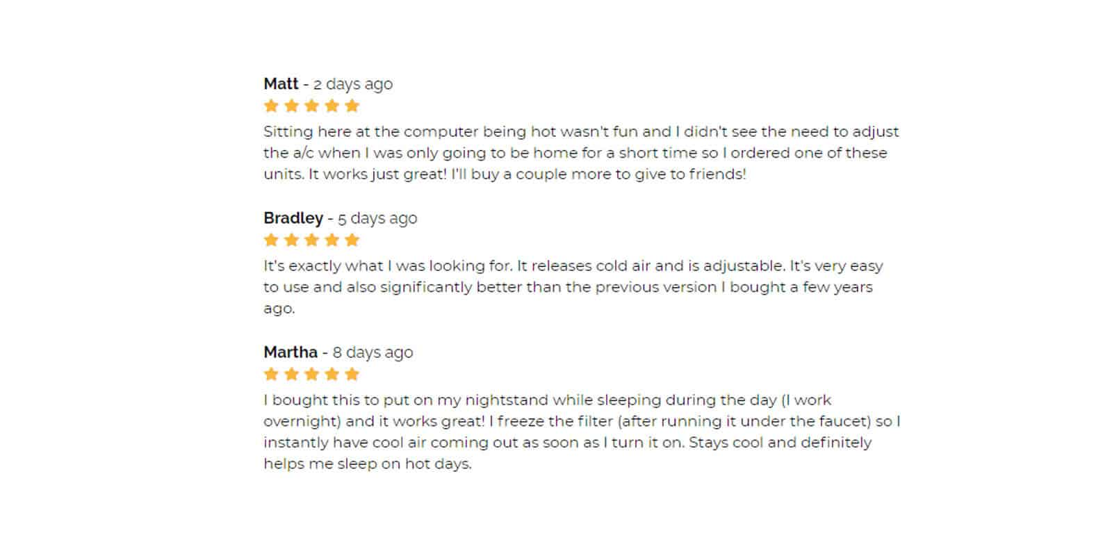 CoolMe Pro Customer Reviews
