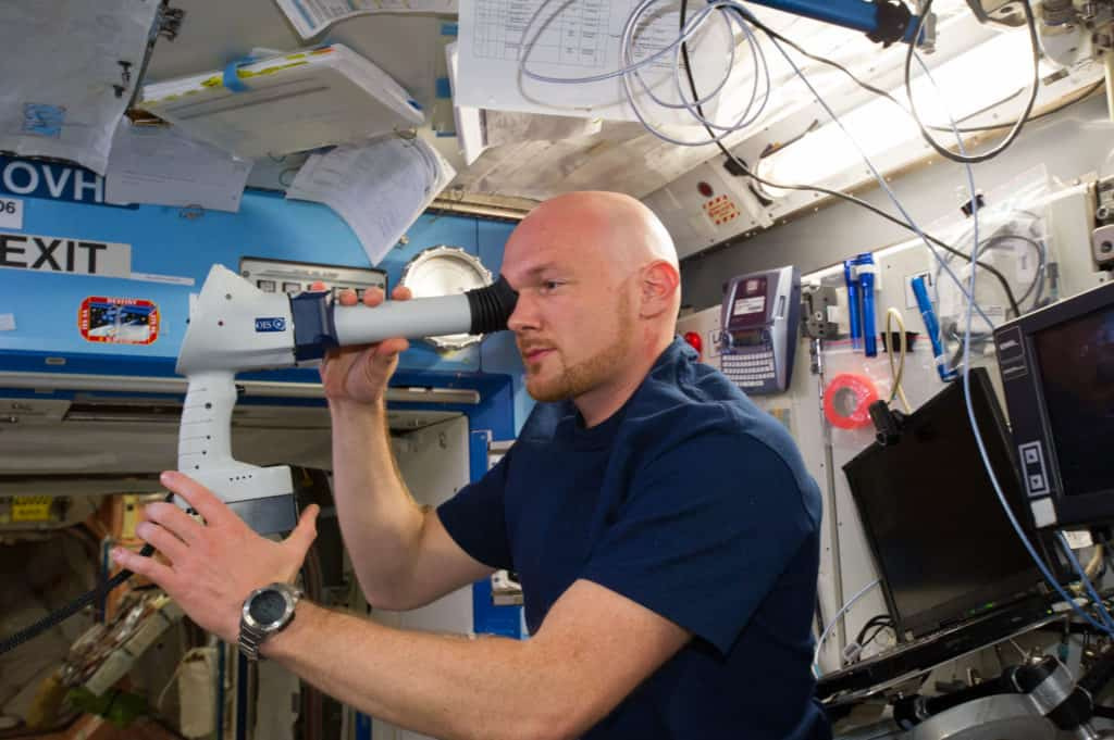 Being In Space Alters Human Eyes