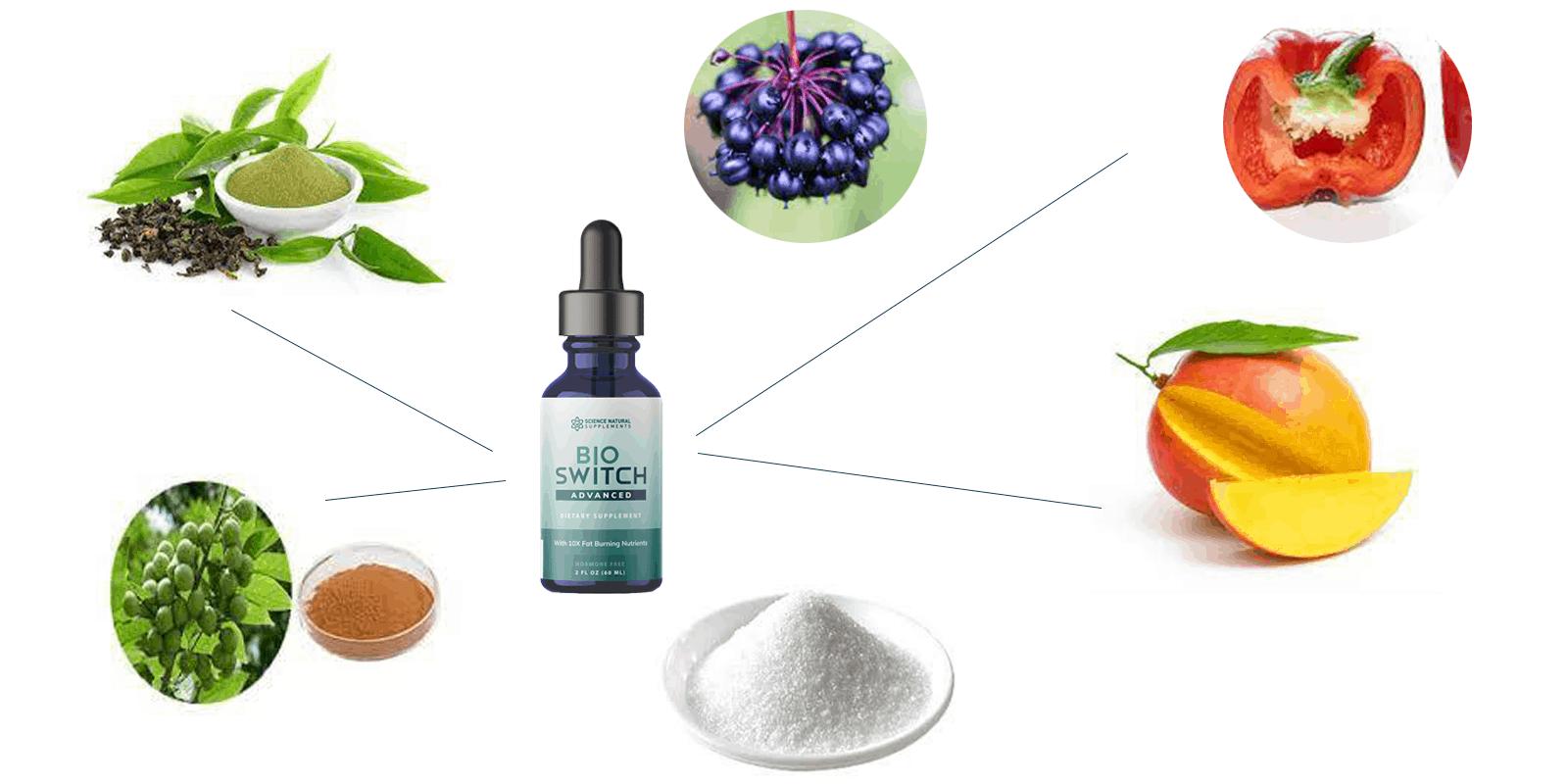 BioSwitch Advanced ingredients