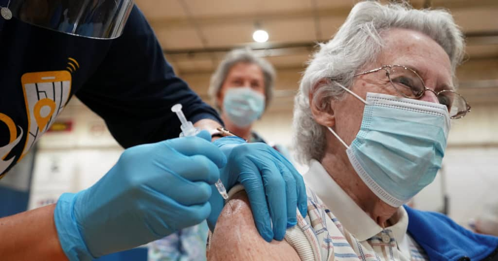 Good News All Around As Number Of Americans Vaccinated Crosses 100 Million