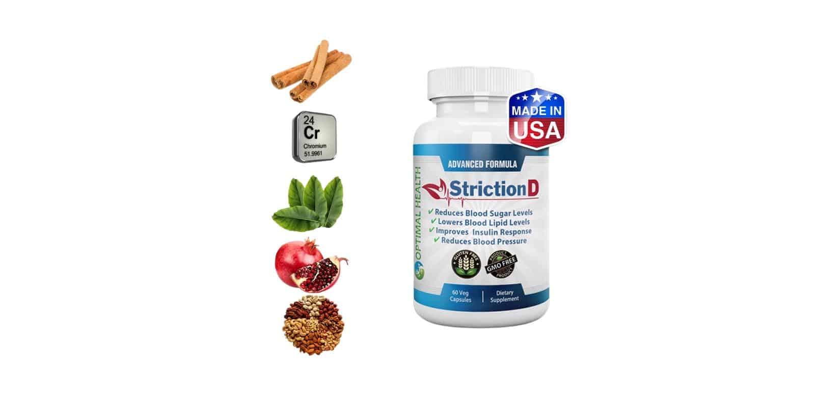 StrictionD Ingredients