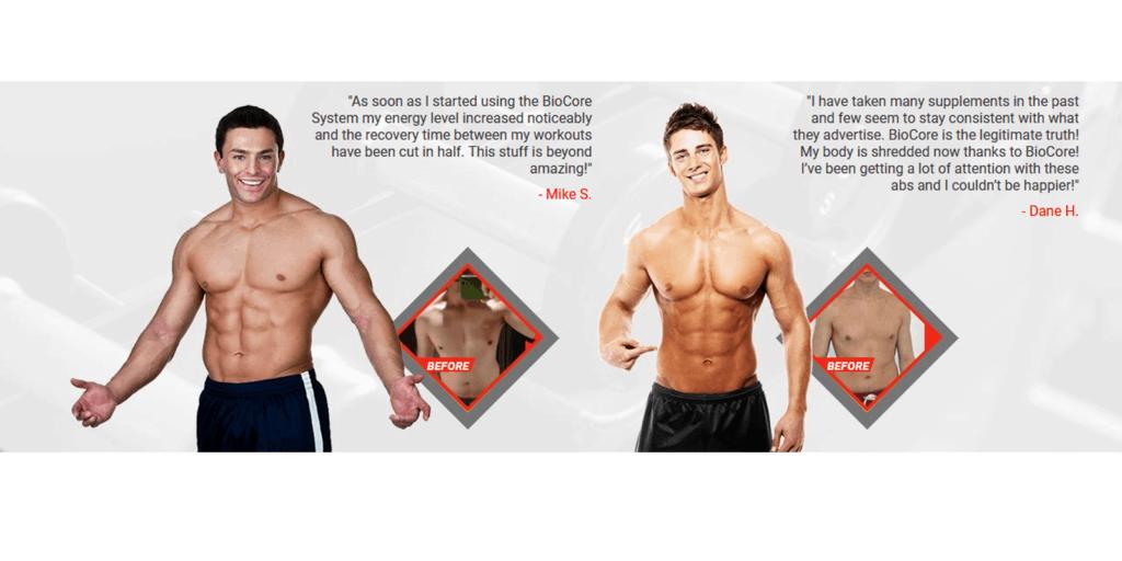 BioCore Muscle Reviews Customer reviews
