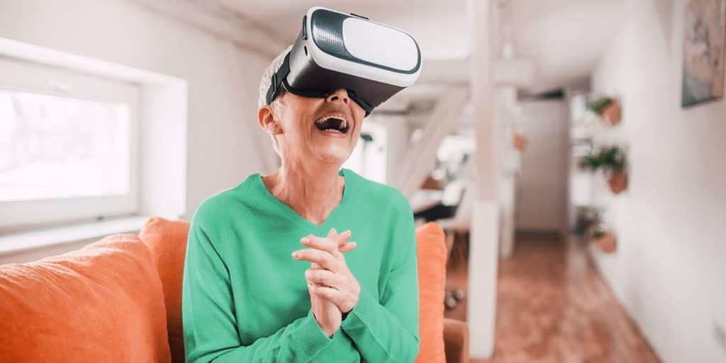 Can Virtual Reality Benefit Seniors?