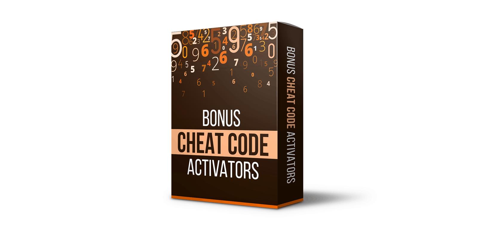 Cheat Code Activators bonus