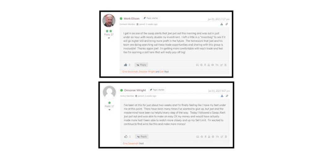 Crypto Swap Profits Mastermind Customer reviews