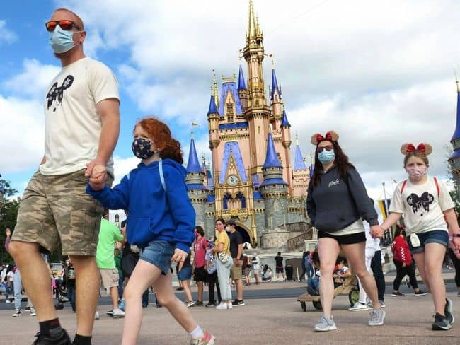 Disney Is Opened For Visitors And Without A Mask Mandate