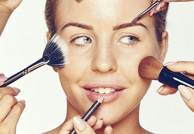 Females Absorbing Toxicants From Makeup