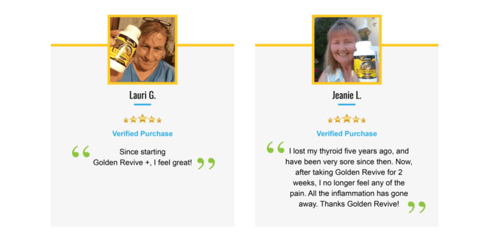 Golden Revive Plus Customer Reviews