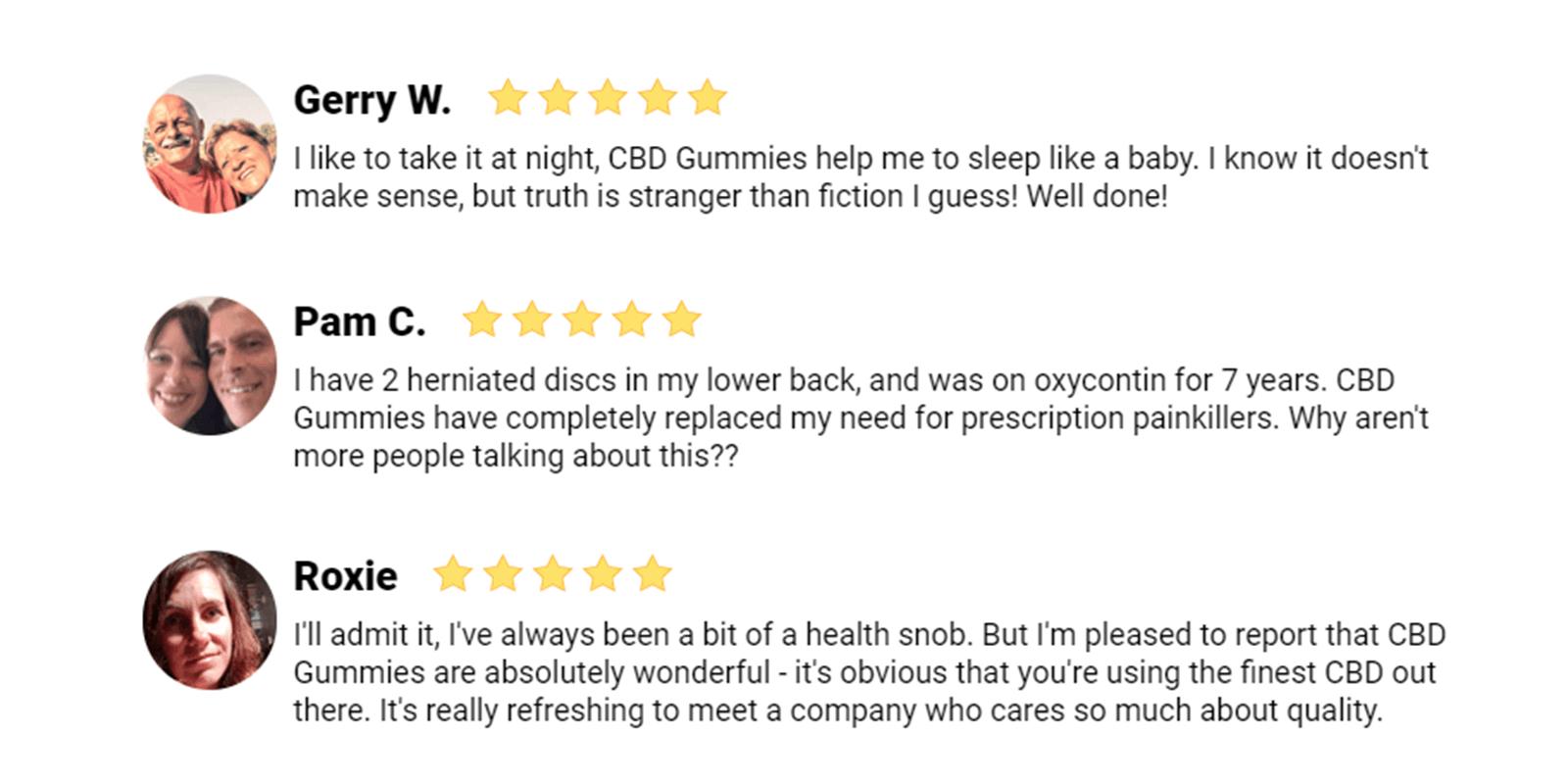Keoni CBD Gummy Cubes customer reviews