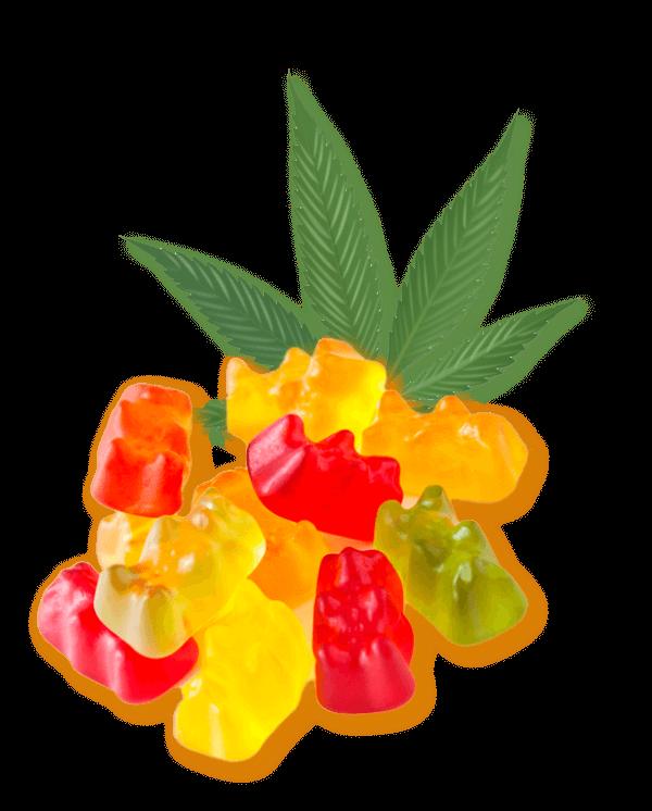 Keoni CBD Gummy Cubes supplement