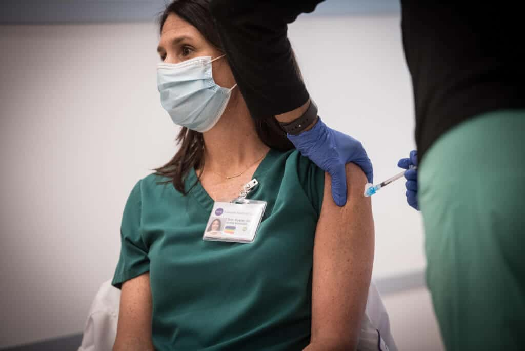 Mandatory Vaccines Required Now For Health Care Workers To Remain Employed