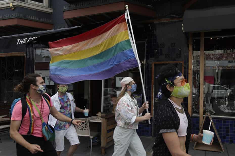 The Gay Neighbourhood Used The Trauma Of HIV To Help The Americans Fight Coronavirus