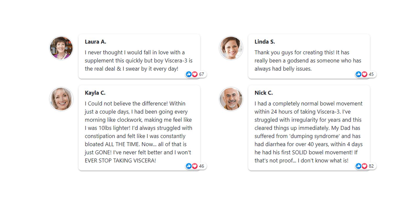 Viscera-3 customer reviews