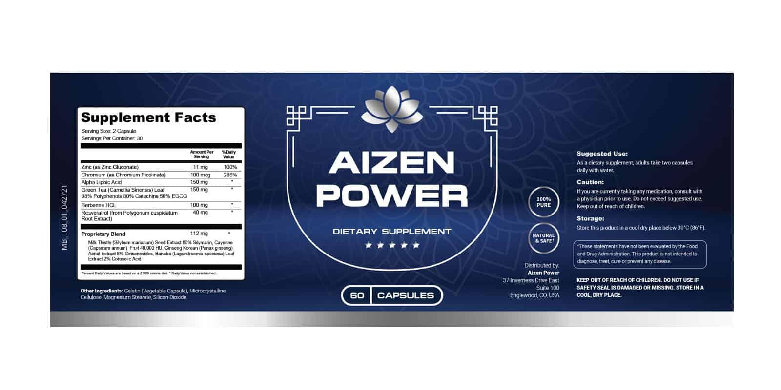 Aizen Power Dosage