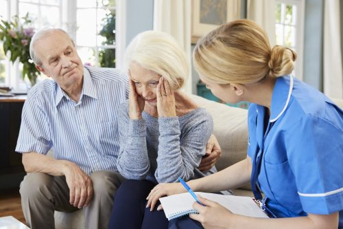 For Dementia Patients, Keeping The Same Nurse For All Home Health Care May Be Important