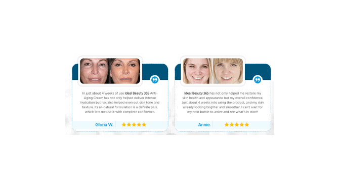 Ideal Beauty 365 customer reviews