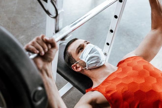 New Study Finds That Masks At Gym Are Discomfort But Unsafe