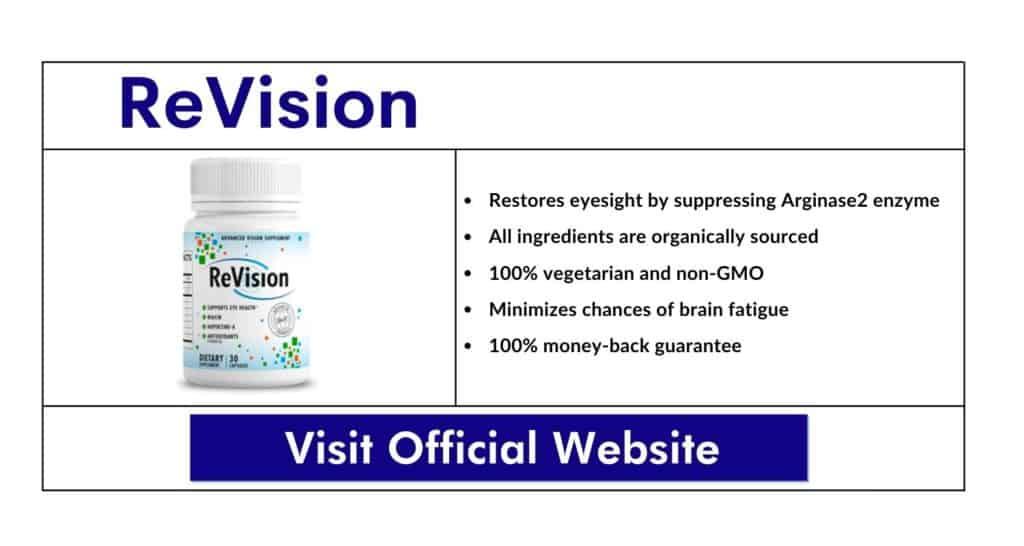 ReVision Eye Supplement