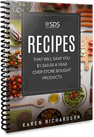 Recipes That Will Save You $1,560.00 a Year Over Store Bought Products