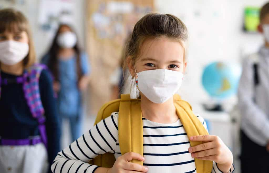 Should The Children Go With Or Without Masks?