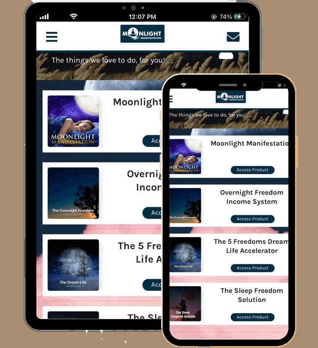 Sweet Dreams Listening App