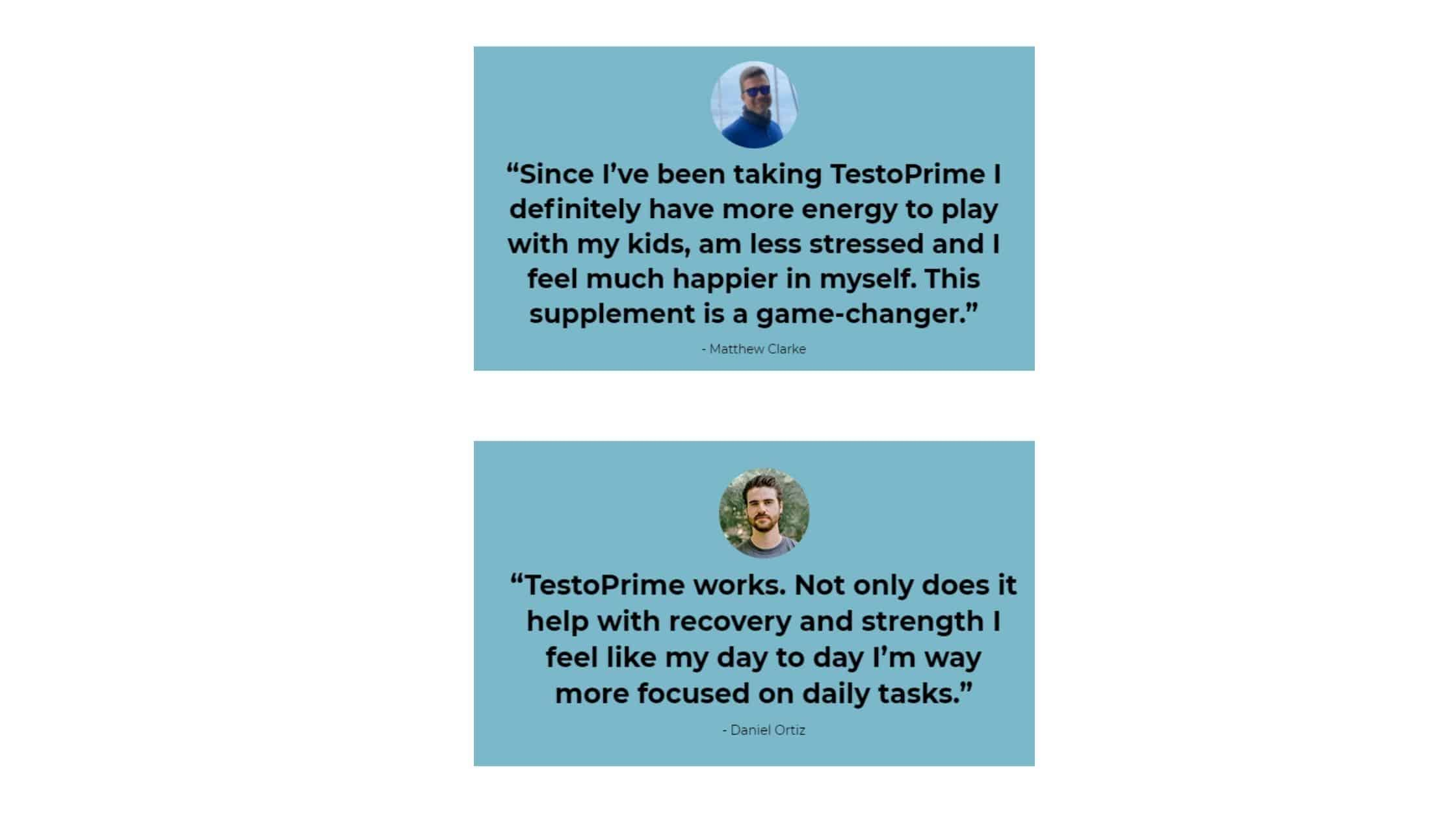 TestoPrime Customer Reviews